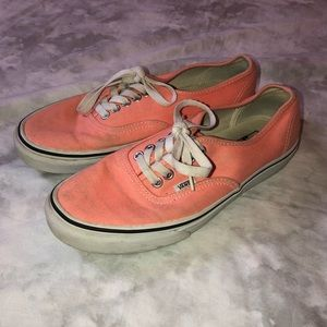 Vans Authentic Style Peach Sneakers